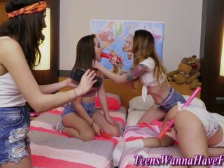 Jizz faced teen rammed