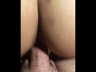 Riding a big cock. Love it!