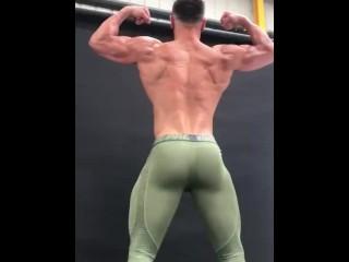 Muscle in lycra