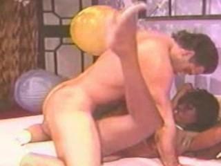 Bit titty ebony fucks hard
