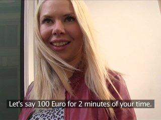 PublicAgent Russian blonde loves strangers