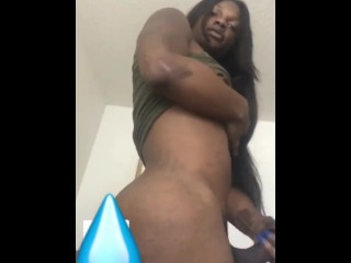 Big Booty Black Tranny