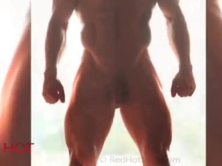 Ethan model naked show his penis