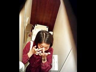Japanese toilet voyeur