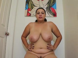 Naked hallway deep burps