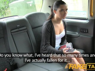 Fake Taxi  Tight pussy gets a deep fucking