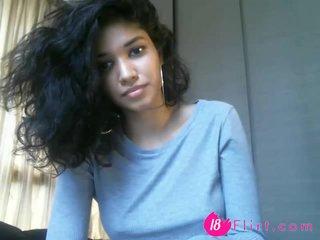 Cute 18 Sabrinadiaz with perfect tits 18flirt