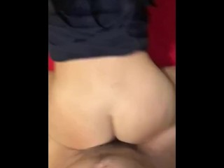 Fucked her while her friends are in the next room