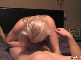 Real Amateur Blonde Teen Creampied