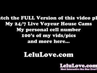 Lelu Love-POV Mirror Blowjob Facial Cumshot