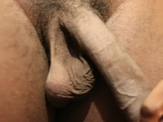 Hung BBC gets cock hard