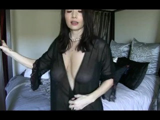 She Innocently Gets More Seductive with Every Outit as Your Young Cock Grow