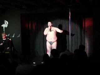 Comedian Kyle Adams bares his soul and his balls.