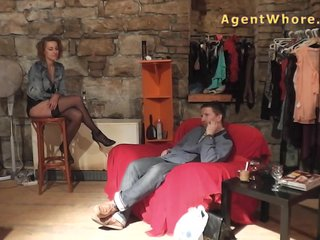 Reversed casting – slovak guy gets blowjob