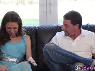 Glam teen stepdaughter
