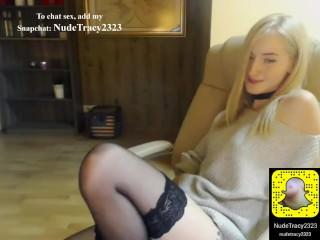 Blonde big tits Live sex add Snapchat: NudeTracy2323