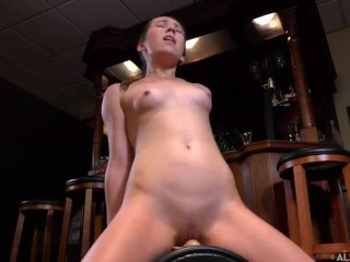 drinking before I try my sybian