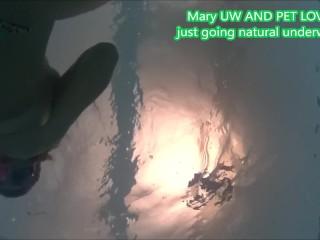 MaryUnderwaterandPetLover Sharing some relax