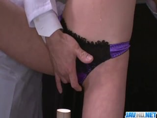 Gagged Akari Asagiri Has An Orgasm From A Vibrator