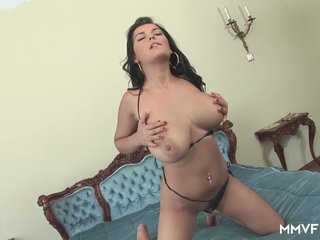 MMV FILMS Stunning Latina has huge tits