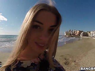 Big Tit Blonde Public Sex Outside (HUUU)