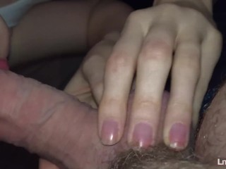 He Cums on my New Jean | Teen Ruined Cumshot POV