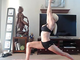 Hottest yoga session squirt inc 1fuckdatecom