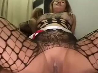 Dirty asian gets anal fucked by big cock