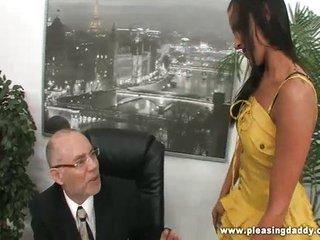 Chanel white fuck her mature boss