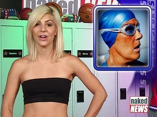 Naked News Leah Sports