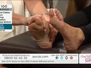 QVC Kissable Feet