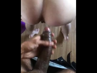 SEXY BLONDE TEEN ANAL SQUIRT WITH BBC