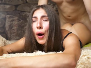 GF GAVE IN THE ASS TWICE – DOUBLE ANAL CREAMPIE – DICKFORLILY