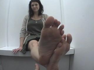 PSJ Cheerleader Feet