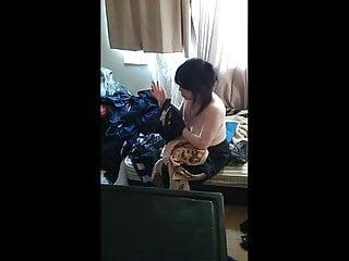 My wife hidden camera