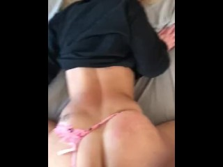 College Blonde Fucked By Thick BBC, Super Tight Pussy