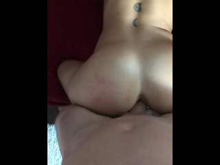Tatted Fit Tinder Chick gets Pounded by Thick Cock