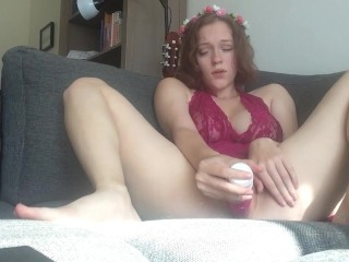 Quickie on the couch.