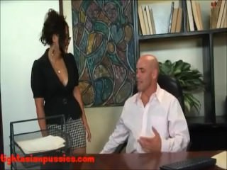 Big boob asian swallows huge load after being fucked hard