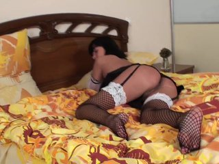 Teen Miki Plays With Her Ass