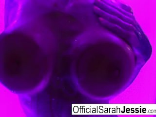 Artistic wet masturbation with Sarah Jessie