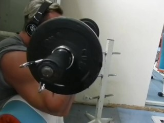 Greek bodybuilder biceps