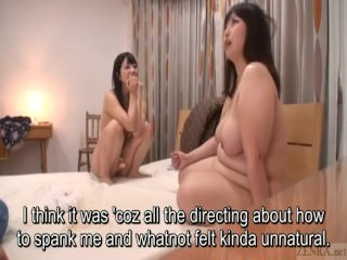 Subtitles Japanese BBW lesbian play with Ai Uehara