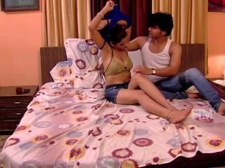 Shruthi Bhabhi Indian hot girl want to romance with her Sister's husband
