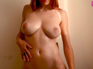 Hot Teen Milks and Oils Her Big Natural Tits – TeenDesire18