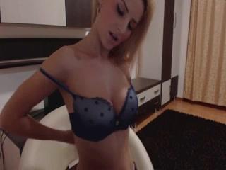 hot blondie doggy herself on webcam – thegirlsCamscom