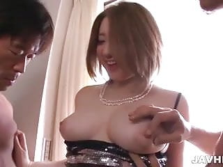 Alice Ozawa sandwiched between to hard cocks