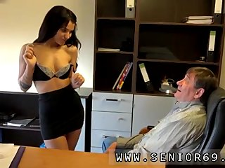 Sexy brunette creampie first time Woody