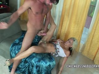 Kacey Jordan takes a cock in her sweet pussy