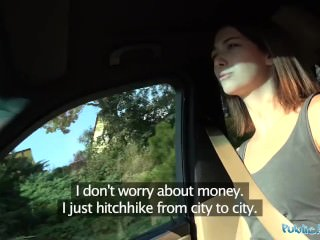Public Agent Hitchhiking Student Fucks Fat Cock